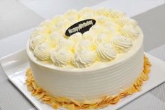 La torta di compleanno Fotografia Stock