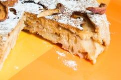 La torta di mele dolce fotografia stock