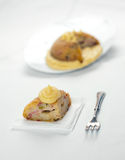 La torta di riso salata italiana ha chiamato Sartu di Riso Fotografie Stock Libere da Diritti