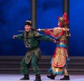 """La tortuga capturará - el  blanco de Opera""""Madame Snake†de la sexta del acto del agua colina-Kunqu de oro de los desbordamie Imagen de archivo"""