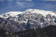 La Tosa in the Pyrenees Royalty Free Stock Image