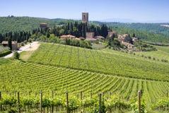 La Toscana Fotografie Stock Libere da Diritti