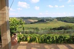 La Toscana 20 Fotografie Stock