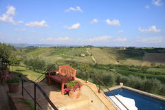 La Toscana 14 Fotografie Stock Libere da Diritti