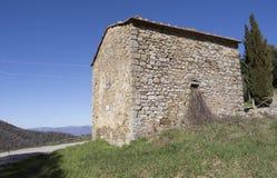 La Toscana in Chianti Fotografia Stock Libera da Diritti