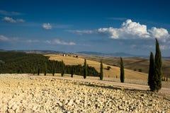 La Toscana II Fotografie Stock Libere da Diritti