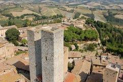La Toscana, Italia Fotografie Stock