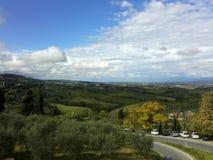 La Toscana, Italia immagini stock libere da diritti