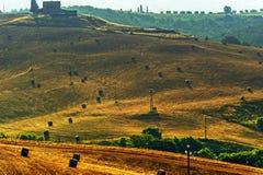 La Toscana - l'Italia Immagini Stock Libere da Diritti