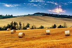 La Toscana - l'Italia Fotografie Stock