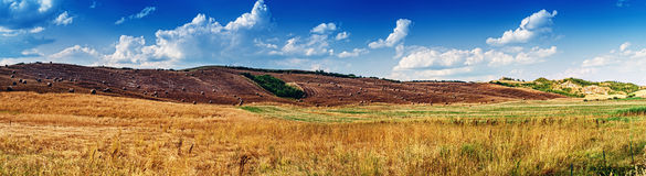 La Toscana - l'Italia Immagini Stock