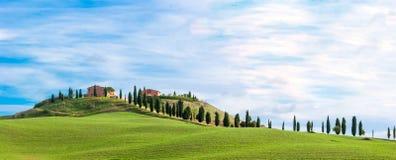 La Toscana, paesaggio Fotografia Stock Libera da Diritti