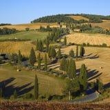 La Toscana - serpentina Immagine Stock Libera da Diritti