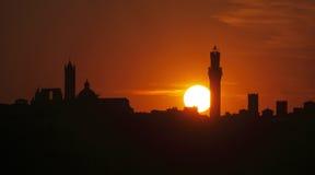 La Toscana, Siena Immagine Stock