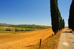 La Toscane photographie stock