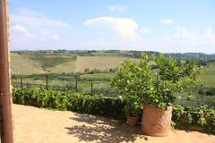 La Toscane 35 Photo libre de droits