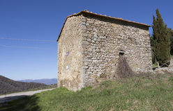 La Toscane dans le chianti photo libre de droits