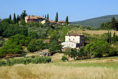 La Toscane, Italie Photos stock