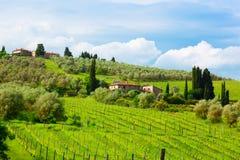 La Toscane, Italie Photographie stock libre de droits