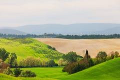 La Toscane, Italie Photographie stock