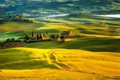 La Toscane - l'Italie Photo stock