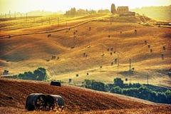 La Toscane - l'Italie Photos stock