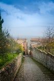 La Toscane - le Montalcino photographie stock libre de droits