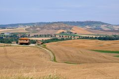 la Toscane type Photo libre de droits