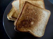 La tostada, desayuno es dulce Imágenes de archivo libres de regalías
