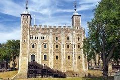 La tour blanche à la tour de Londres Image libre de droits