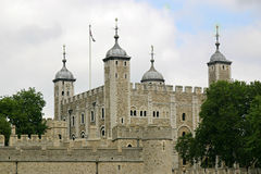La tour blanche Image libre de droits