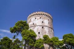 La tour blanche de Salonique, Grèce photographie stock
