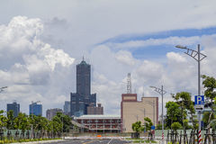 La tour célèbre de 85 cieux de la ville de Kaohsiung Photo stock