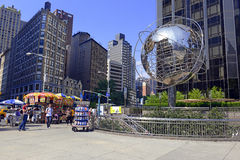 La tour d'atout chez Columbus Circle, Manhattan Images stock