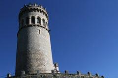 La tour d'Avalon et de ses remparts Photo libre de droits