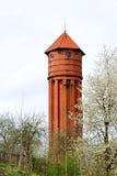 La tour d'eau allemande Photographie stock libre de droits