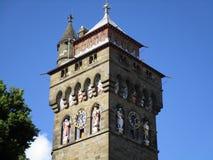 La tour d'horloge Image libre de droits