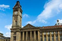 La tour d'horloge de logements sociaux Photos libres de droits