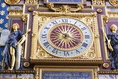 La tour d'horloge (visite de l'Horloge) - Paris Photo stock