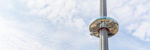 La tour d'observation à Brighton, le Sussex, R-U photos stock
