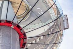 La tour d'observation à Brighton, le Sussex, R-U photographie stock