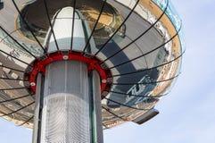 La tour d'observation de ` de British Airways i360 de `, Brighton Images stock