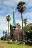 Tour de Bell de cygne de Perth Photographie stock libre de droits