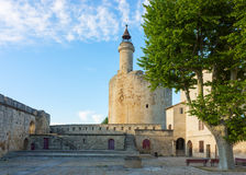 La tour de Constance, Aigues-Mortes, France Photos stock