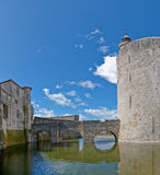 La Tour de Constance chez Aigues Mortes, France Images stock