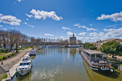 La Tour de Constance chez Aigues Mortes, France Photo stock