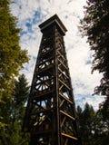 La tour de Goethe à Francfort, Allemagne Photo libre de droits
