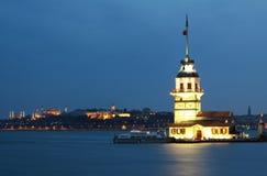 La tour de la fille à Istanbul. Photographie stock