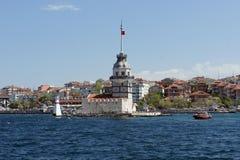 La tour de la fille à Istanbul Photo libre de droits