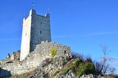 La tour de la forteresse d'Anakopia Photographie stock libre de droits